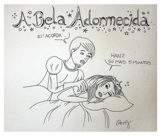 Desenho_BelaAdormecida